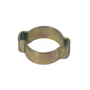 "DIXON Pinch-On Double Ear Clamp, 9/16"" - 1-1/8"""