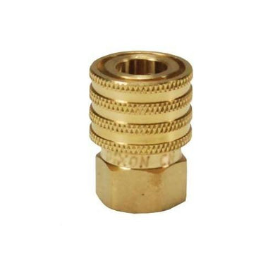 DIXON DQC E-Series Straight Through Interchange Female Coupler, 1/4