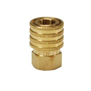 "DIXON DQC E-Series Straight Through Interchange Female Coupler, 1/4"" - 1"""