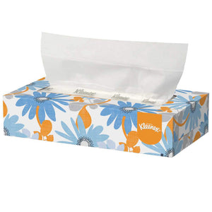 KLEENEX® Facial Tissue, 2-Ply White, 100/Box, 36 Boxes/Case