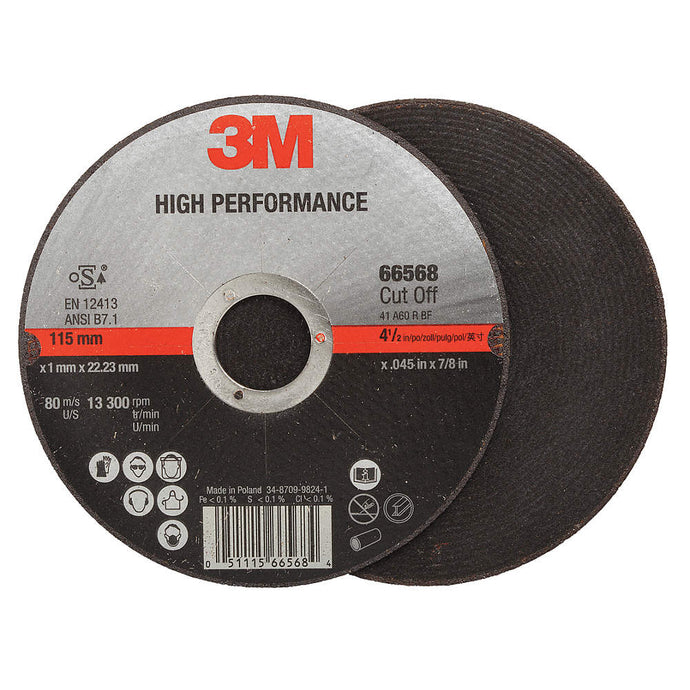 3M Type 1 High Performance Ceramic Cut-off disc