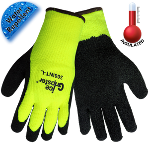 Ice Gripster® Neon Yellow, Brushed Terrycloth Glove (300)