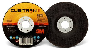 3M™ Cubitron II Cut-Off Wheel, 66518, T1, 4 in x .035 in x 3/8 in, 25 per inner, 50 per case