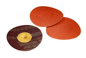 3M 2 Roloc Coated Ceramic Quick Change Disc 963G