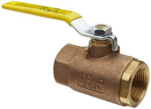APOLLO VALVES 80-100 Series Bronze LP-Gas Ball Valve