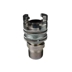 "DIXON Dual-Lock P-Series Thor Interchange Male Thread Coupler, 3/8"" - 3/4"""