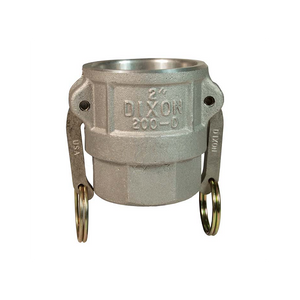 "DIXON Cam & Groove Type D Coupler x Female NPT, 2"" - 4"""