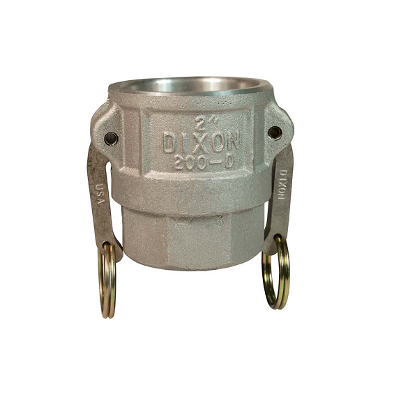 DIXON Cam & Groove Type D Coupler x Female NPT, 2