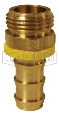 Dixon 5721012C Lok-On Male Garden Hose Fitting, 5/8