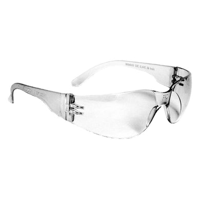Radians MR0110ID Mirage Sleek Design, Lightweight Safety Glasses With Distortion Free Clear Lens