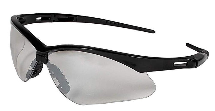 Jackson Safety V30 25685 Nemesis Safety Glasses 3000357 Black Frame with Indoor/Outdoor Lens