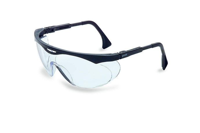 UVEX S1900 Skyper Safety Eyewear, Black Frame, Ultra-Dura Hardcoat Lens