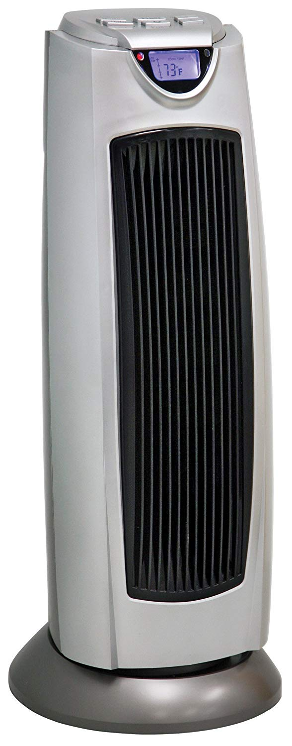 Comfort Zone CZ499R Oscillating Tower Heater