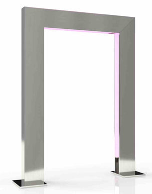 Far-UV Sanitation Portal: 222 nm Excimer Lamps, 304 Stainless Steel Construction