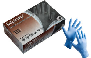 Nitrile Exam Gloves, 4 Mil, Powder Free, Textured Finger Tips, Color May Vary