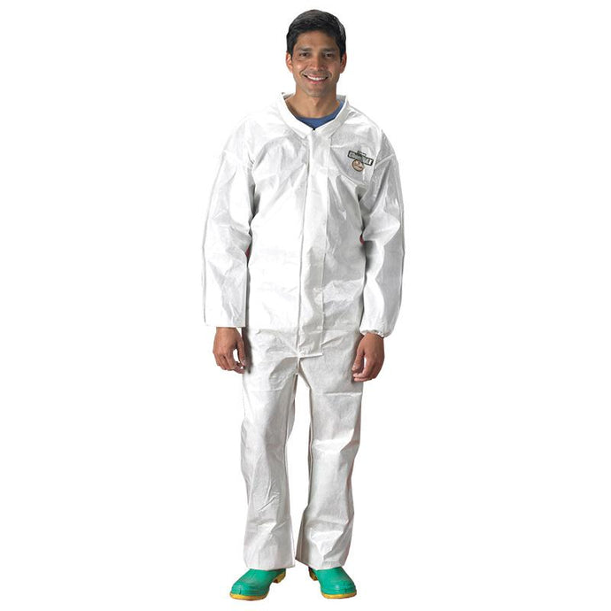 Lakeland ChemMax2 Coverall Zipper with Storm Flap, Elastic Wrists, Elastic Ankles (C44417)