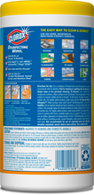 Clorox® Disinfecting Wipes (Case of 12 Tubs)