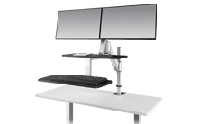 Sit to Stand Clamp-On Workstation