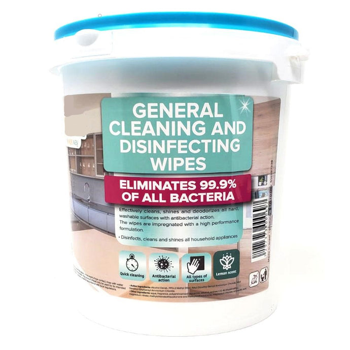 Carmel Cleaning & Disinfecting Wipes Jumbo Bucket, 300 Count