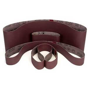 "3M 66630, 341D, Cloth Abrasive Belt, 6 x 48"", 50 Grit, Aluminum Oxide, Packed 20/case"
