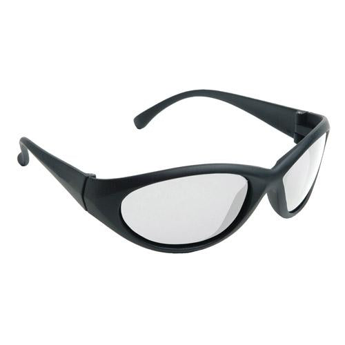 Clear Radians COBALT™ SafetyEyeware, Black Frame, Select Lens
