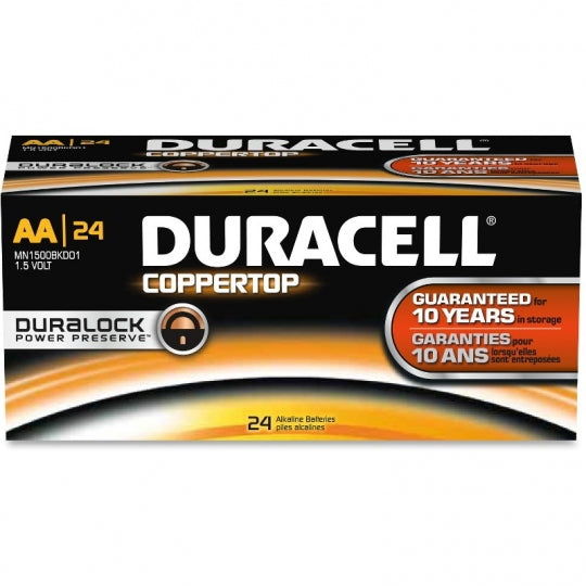 DURACELL 01501 AA Copper Top Battery