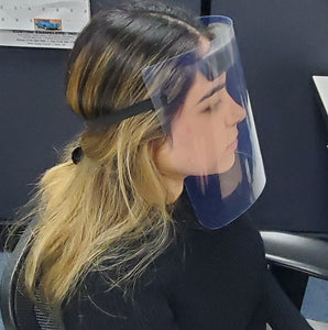 Faceshield, Clear Plastic Visor