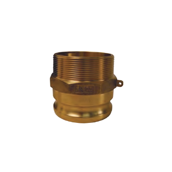 DIXON Global Cam & Groove Type F Adapter x Male NPT, 3/4