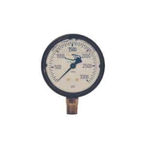 DIXON Liquid Filled ABS Case Gauge, 160-1000 Max PSI