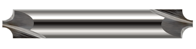 Harvey Carbide Corner Rounding End Mills, 2 Flute, Uncoated