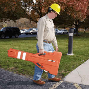 "Expandable Personnel Barrier, Up to 90"" Wide"