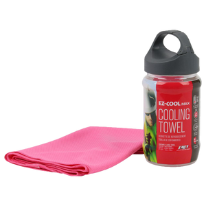 EZ-COOL® MAX Pink Evaporative Cooling Towel