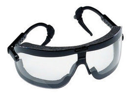 3M Fectoggles Dust Goggles With Black Frame And Clear Anti-Fog Lens (Case/10)