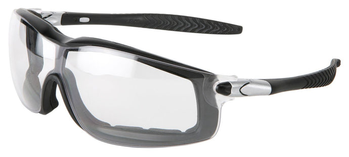 Crews Rattler® - Black Frame, Clear Anti-Fog Lens (RT110AF)