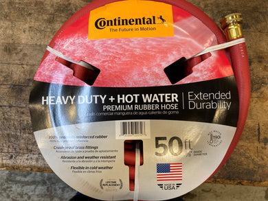 Goodyear Hot Water Red Rubber Hose, Commercial Grade, 100 PSI, 20582672, 5/8