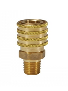 DIXON DQC E-Series Straight Through Interchange Male Coupler, 3/8""