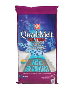 Qik Joe Quad Ice Melt Blue Crystals Blended Ice Melt 50 lb.