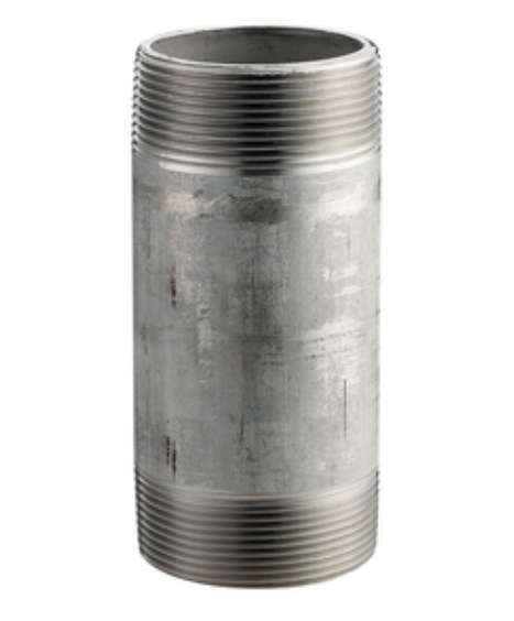 Stainless Steel Schedule 80 304L Nipple