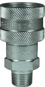 DQC T-Series Male NPTF Ball Coupler, 3/8""