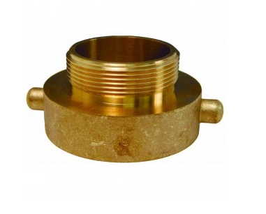 DIXON Hydrant Adapter Pin Lug Brass, 3/4