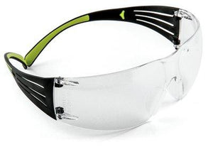 Clear 3M™ SecureFit™ Protective Eyewear SF401AF, Anti-fog Lens