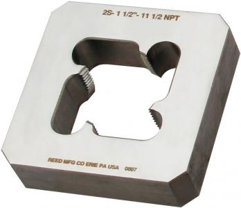 REED 2SP2 Square Solid Block Pipe Die