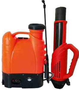 Portable, Battery-Powered, Backpack Electrostatic Sprayers