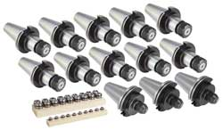 "Techniks 04210IS Collet Set (INCH) 5/32-1/2"" by 32nds"