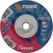 Weiler Long Life High Performance Grinding Wheels 57120/57121