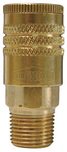 DIXON Air Chief ARO Interchange Semi-Automatic Male Threaded Coupler, 1/4""