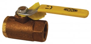 DIXON Safety Vented Ball Valve, BBV100LV, 1""