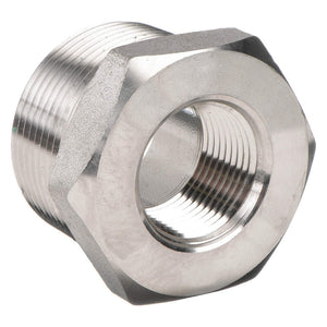 "Hex Bushing, 1"" X 3/4"" Reducing, 304 Stainless Steel 10860"