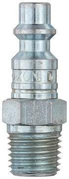 DIXON DF-Series Pneumatic Male Threaded Plug; Steel, 1/4