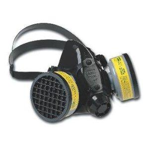 North Half Mask Silicone Respirators, Dual Cartridge (7700)
